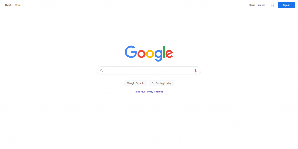 Google-minimalist-website-designs