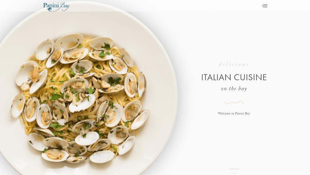 minimalist-website-design-Panini-Bay