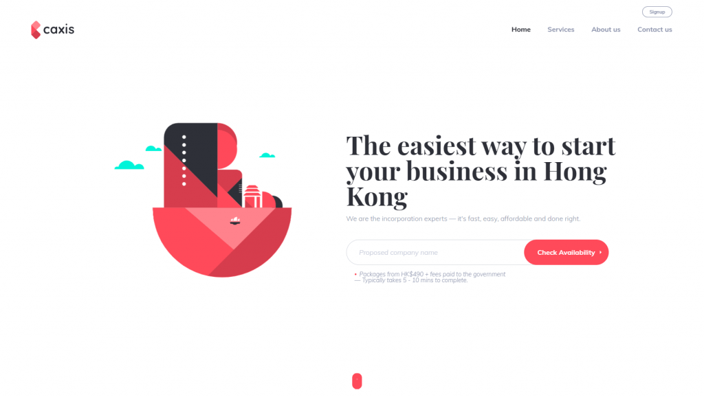 minimalist-website-design-caxis