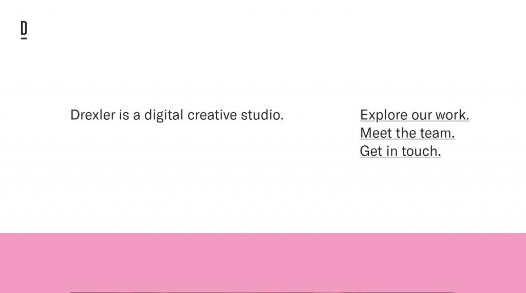 minimalist-website-design-drexler
