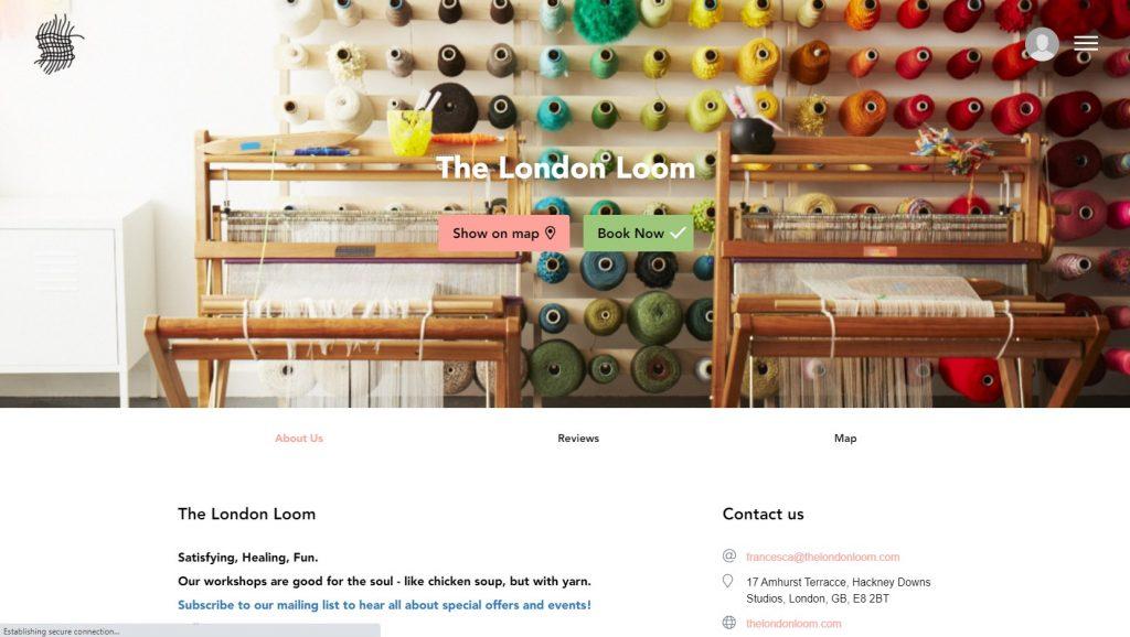 minimalist-website-design-london-loom